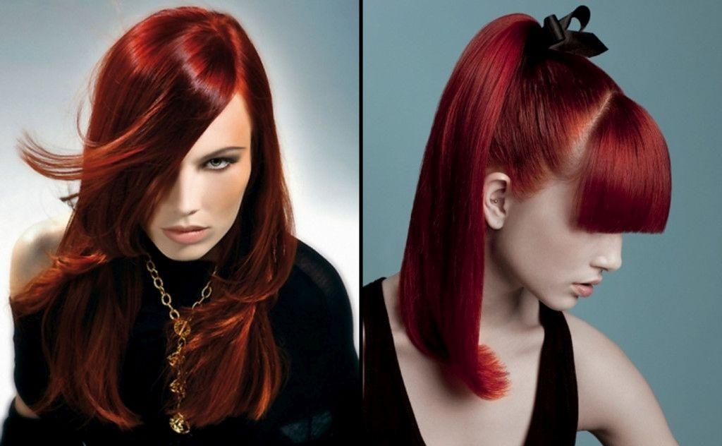 Intenzivna in zapeljiva rdeča barva L'Oreal professional.