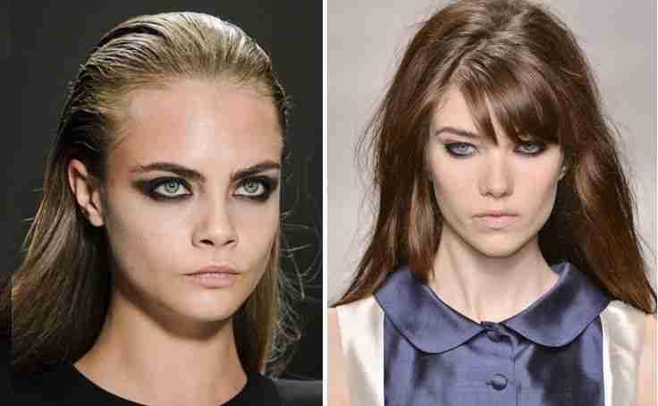 Črn make-up je lahko videti tako zapeljivo!