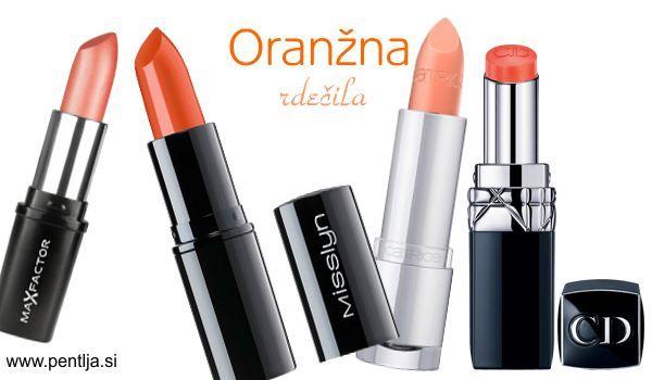 Max Factor Colour Collections Lipstick. Cena cca. 11 €. Misslyn  Perfect Match. Cena cca. 7 €. Catrice Ultimate Lip Colour. Cena cca. 4 €. DIOR -Rouge Dior Baume. Cena cca. 45 €.