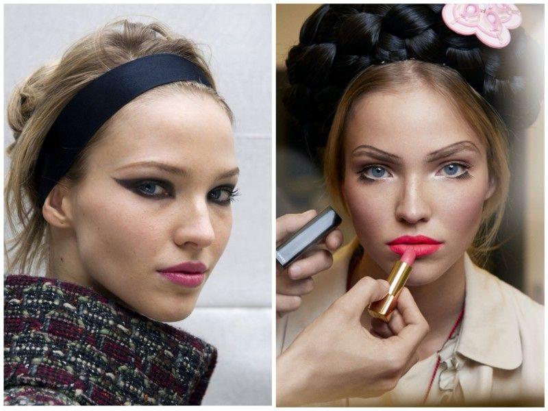 Chanel to jesen in zimo prisega na vse roza odtenke. Lahko se odločite za nežen mat odtenek ali dominanten pink. V kombinaciji z izrazitim očesnim make-upom boste videti damsko!