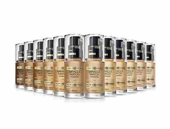 Cena Max Factor Miracle Match je cca. 15,20 €.