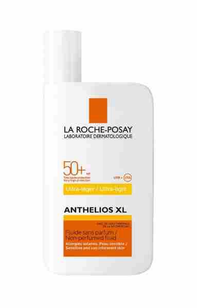 ANTHELIOS XL Ultra light fluid SPF 50+. Cena cca. 16,97 €.