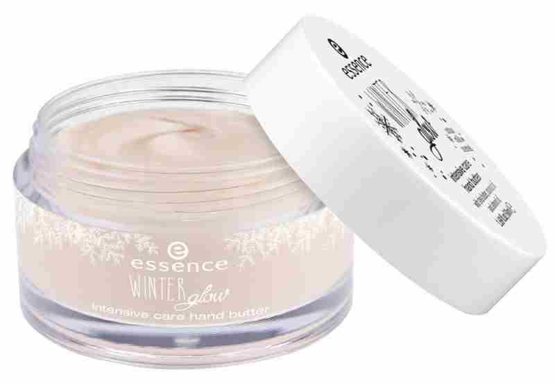 essence winter glow – intenzivno vlažilno maslo za roke.Cena cca. 2,80 €.