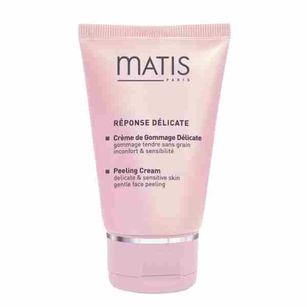 Matis Response Delicate, 100% encimski piling v kremi, primeren za še tako občutljivo kožo, saj nežno odstrani odmrle celice! Cena cca. 33 €.