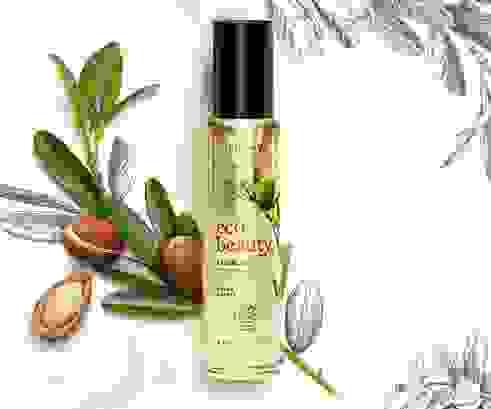 Novo Oriflame Ecobeauty olje za obraz. Izjemno vlažilno in hranljivo, cena je cca. 33 €.